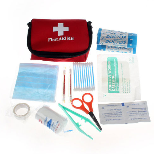 Mini Outdoor Camping Hiking Survival Travel Emergency First Aid Kit Bag