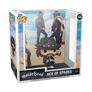 PRE-ORDER DATE TBD 2021 POP Albums: Motorhead - Ace of Spades W/ LEMMY FIGURE Funko Fair 2021