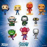 PRE-ORDER TBD 2019 MARVEL FANTASTIC FOUR FUNKO POP! VINYL FIGURE BUNDLE