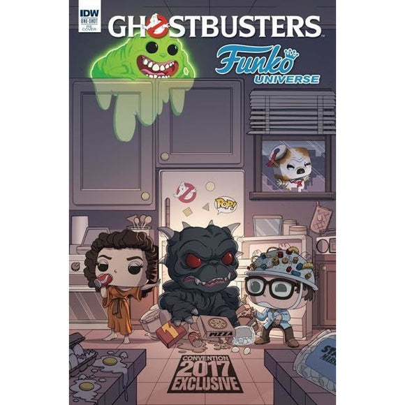 Funko Universe Ghostbusters One Shot IDW Comic Plastic Empire Exclusive Variant LE500 In Stock - Plastic Empire