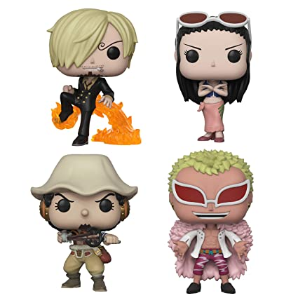 PRE-ORDER AUGUST 2021 FUNKO POP! ANIMATION ONE PIECE S3 BUNDLE SET OF (4)