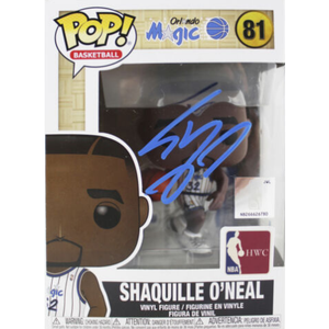 SHAQUILLE O'NEAL SIGNED NBA ORLANDO MAGIC FUNKO POP! AUTOGRAPH IS JSA AUTHENTICATED IN STOCK