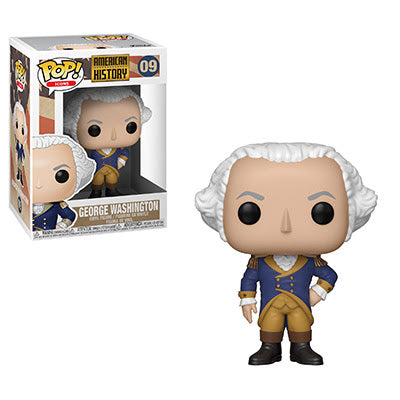 PRE-ORDER TBD 2019 AMERICAN HISTORY GEORGE WASHINGTON FUNKO POP! VINYL FIGURE