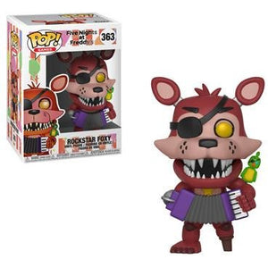 PRE-ORDER JUNE 2018 Five Nights at Freddy's Rockstar Foxy Funko Pop! Vinyl Figure