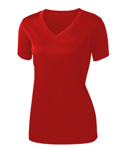 L720 Ladies t-shirt, <br>GINGER RED