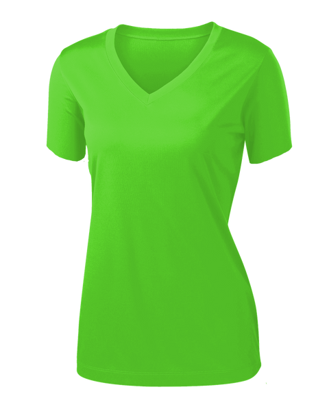 L720 Ladies t-shirt, <br>SMILE GREEN