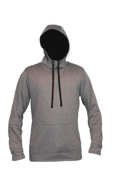 ML475 Unisex <br>Hoodie, Grey Mix
