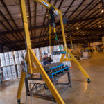 Spanco 2A1015 A-Series Adjustable Height 2 Ton Gantry Crane