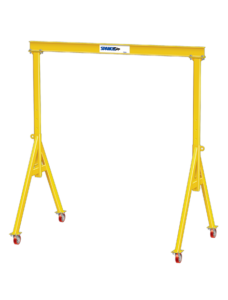 Spanco 7A2513 A-Series Adjustable Height 7-1/2 Ton Gantry Crane