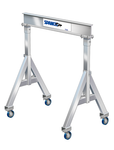 Spanco 1ALU1208 All Aluminum Adjustable Height 1 Ton Gantry Crane