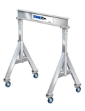 Spanco 1ALU1510 All Aluminum Adjustable Height 1 Ton Gantry Crane