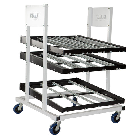 "BUILT Fixed Height Flow Rack FR4848 48""L x 48""W"