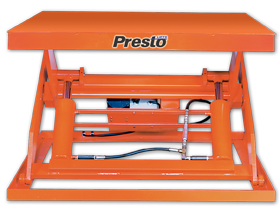 "X3W Series X3W48-60 Wide Base Scissor Lift - 48"" of Travel"