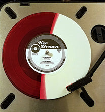 "AUTOGRAPHED KEV BROWN ""ALBANY/ALWAYS "" limited RED AND WHITE color VINYL 45"