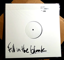 "KEV BROWN ""FILL IN THE BLANK"" autograghed VINYL TEST PRESS"