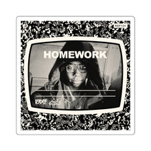 "KEV BROWN ""HOMEWORK"" STICKER"