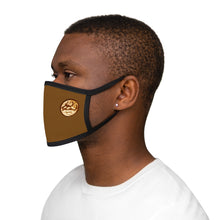 KEV BROWN LOGO Fabric Face Mask