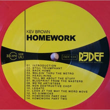 "KEV BROWN ""HOMEWORK"" VINYL LP"