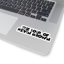 "KEV BROWN ""THE SOUL OF KEV BROWN"" FONT LETTERS STICKER"