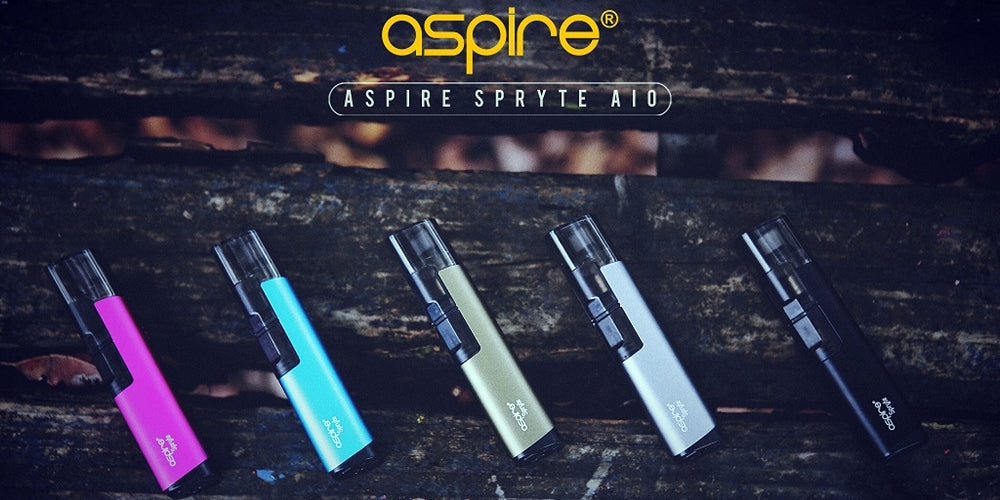 Aspire Spryte AIO starter kit available on Doctor Vape Canada