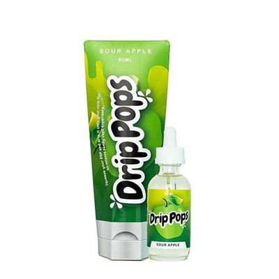 Drip pops sour apply by 7 Daze 60mL bottle now available at Doctor Vape Canada