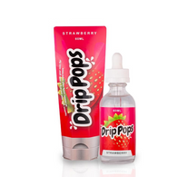 Drip pops Strawberry by 7 Daze eliquid available at Doctor Vape Canada