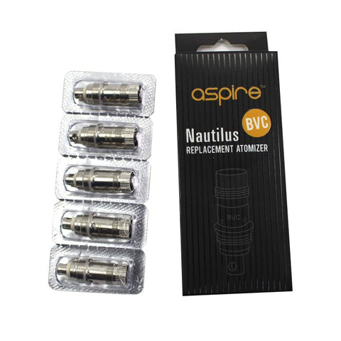 Aspire BVC Coils (For Nautilus & Mini Nautilus)