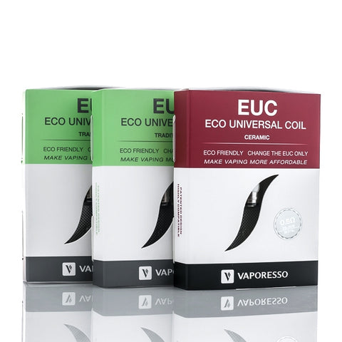 Buy Vaporesso EUC Replacement Coils at Doctor Vape