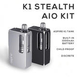 Aspire K1 Stealth Starter Kit - Features
