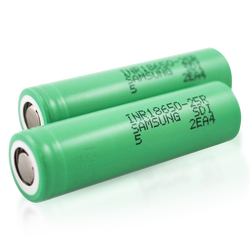 Samsung 25R 18650 2500mAh 20A Battery (2-Pack)