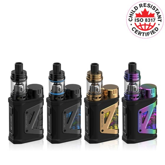 Buy Smok Scar Mini Starter Kit with TFV9 Mini Tank 80W at Doctor Vape