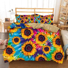 Sunflower Duvet cover bed set SHIP TIME IS MARCH (preorder please read description)