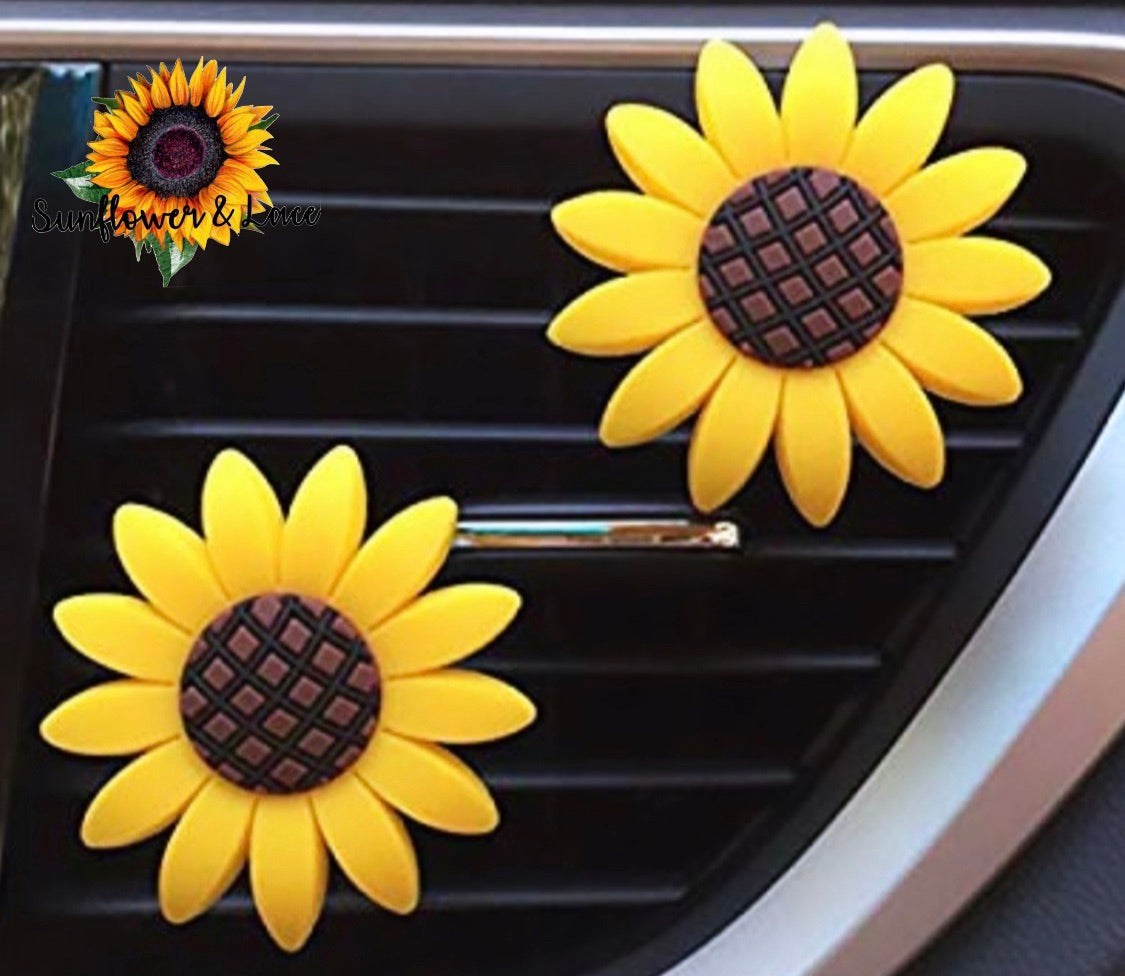SUNFLOWER CAR FRESHIE