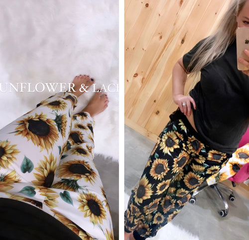 Preorder sunflower joggers(will arrive early June)