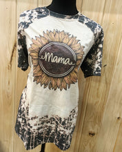 Mama sunflower bleach graphic tee