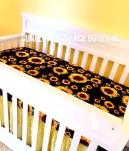 Sunflower baby sheet **SALE**