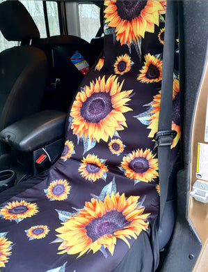 SUNFLOWER SEAT COVERS