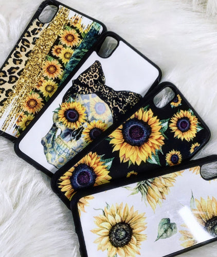 Sunflower phone cases