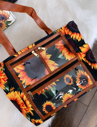SALE LAST CHANCE SUNFLOWER TOTE