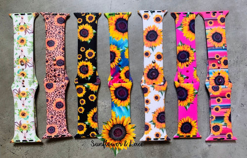 Sunflower watch bands