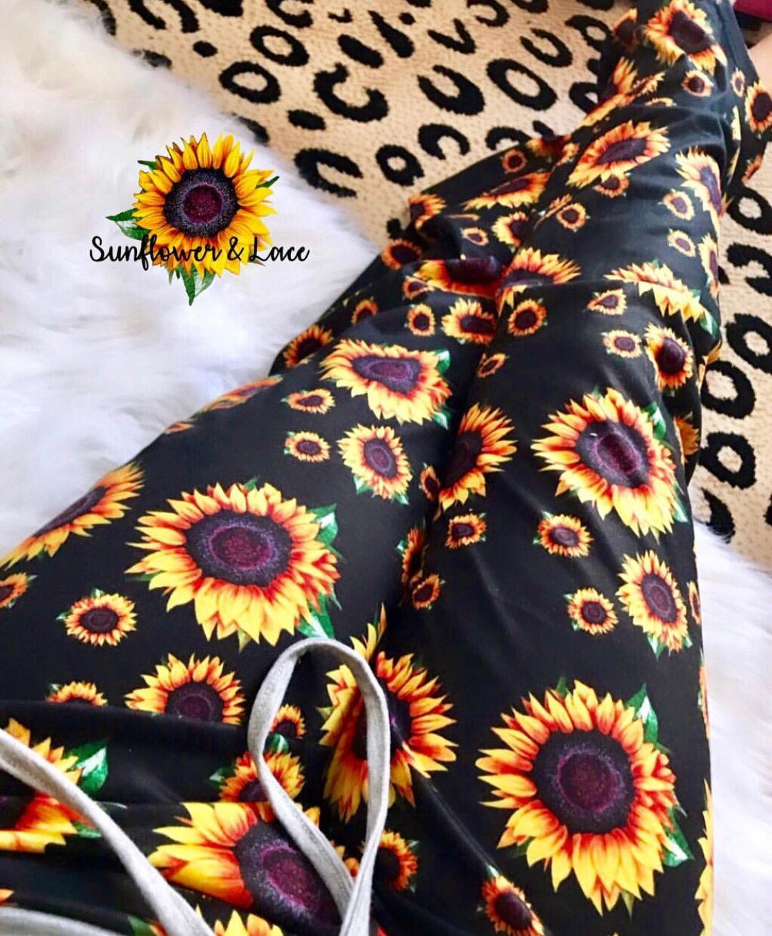 Sunflower lounge pants