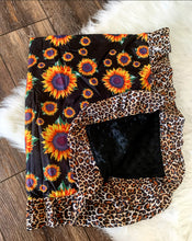 Sunflower Baby Blankets