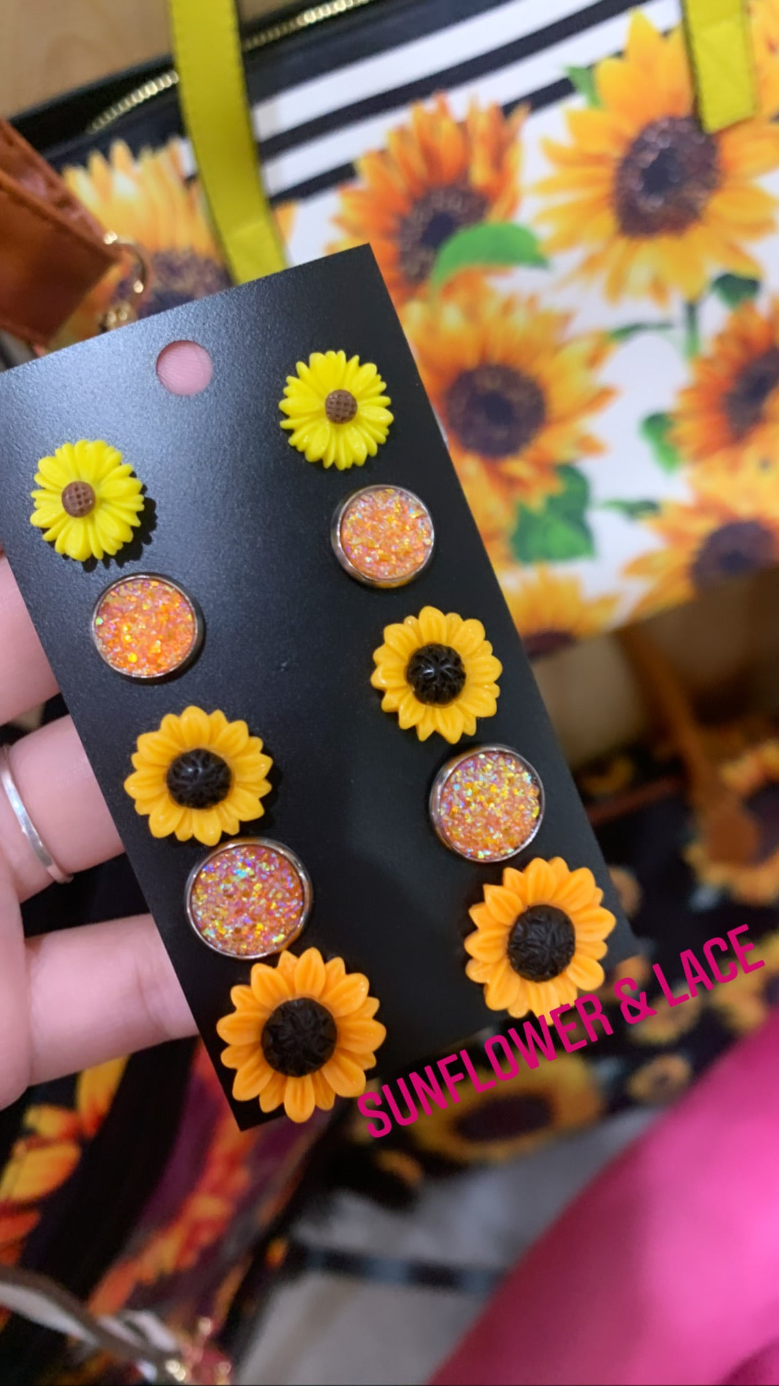 Sunflower Earring set