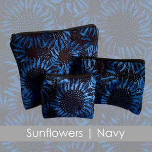 Sunflowers | Navy | Collection