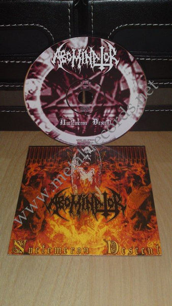 Abominator - Nuctemeron Descent (cd promo)