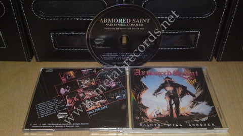 Armored Saint - Saints Will Conquer (cd promo)