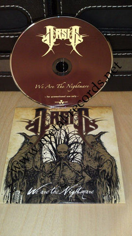 Arsis - We Are The Nightmare (cd promo)