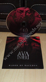 Ava Inferi - Blood Of Bacchus (cd promo)