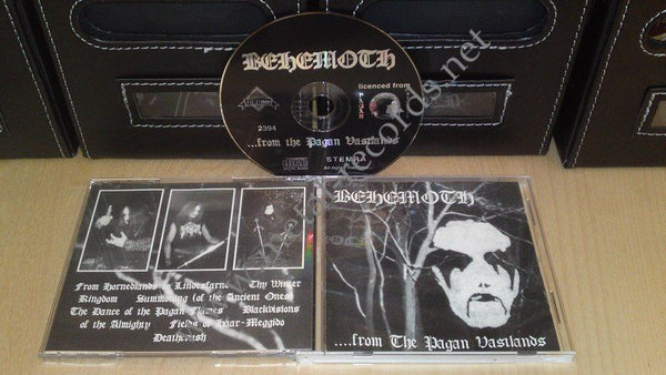 Behemoth - ...From The Pagan Vastlands (cd)