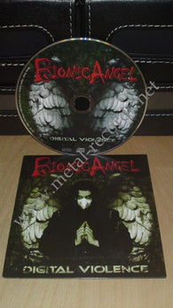 Bionic Angel - Digital Violence (cd promo)